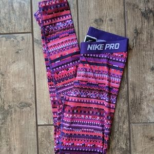 Nike Pro  | Dri-Fit Leggings Workout Athletic